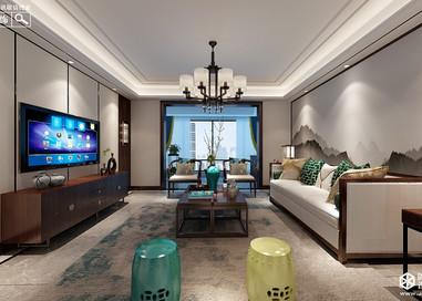新中式-美的城-四室两厅-180㎡