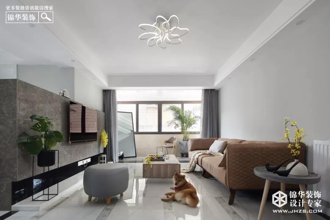 装修实景案例 ▎客厅这么装,空间扩大一倍!