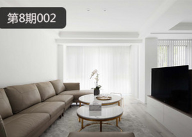 堂杰支招-纯白空间家具选择