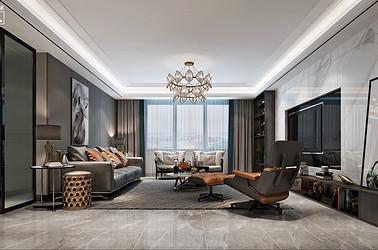 现代简约-南郊中茵城-四室两厅-180㎡