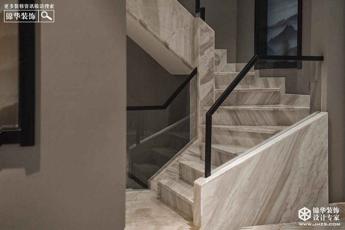 柏林公馆260㎡简约风格实景装修-跃层复式-现代简约
