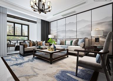 新中式-紫薇公馆-三室两厅两卫-170㎡