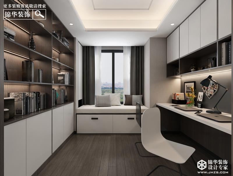 现代简约风格-万科翡翠天地-三室两厅-145㎡-360°装修实景效果图装修-三室两厅-现代简约