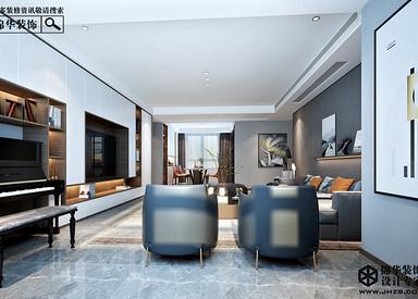 现代简约风格-天骄世家-四室两厅-190㎡-装修实景效果图