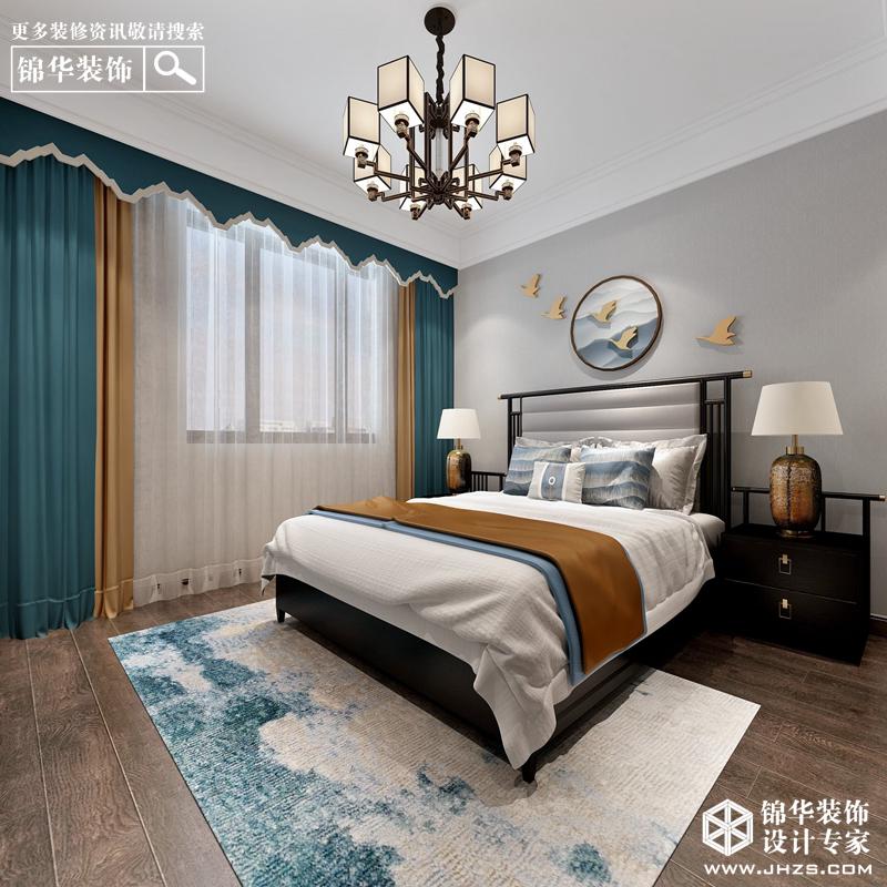 新中式-风尚米兰-大户型-200㎡装修-大户型-新中式