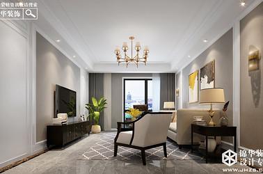 美式风格-紫薇公馆-两室两厅-150㎡