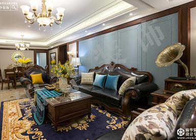 美式风格-保利鑫城-四室两厅-170㎡