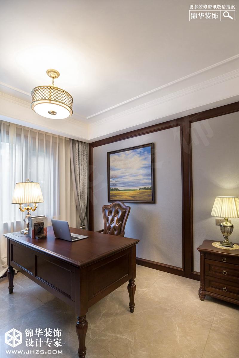 美式风格-保利鑫城-四室两厅-170㎡装修-四室两厅-简美
