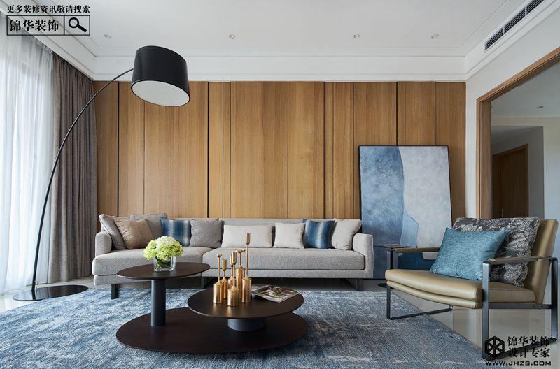 现代简约-绿地璀璨天城-三室一厅-135㎡装修-三室一厅-现代简约
