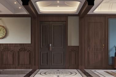 美式风格-锦绣湖畔-三室两厅-143㎡