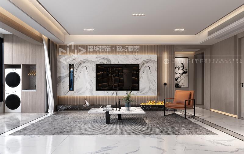 现代简约-蓝城蘭园-三室两厅两卫-200㎡