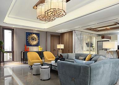 新中式-南京院子-别墅-680平米
