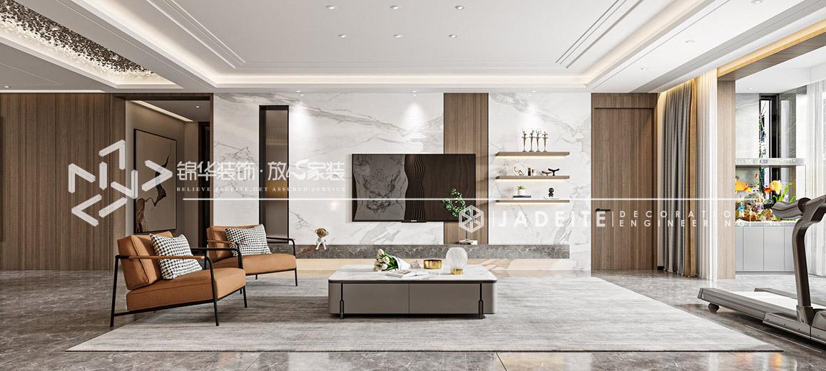 现代风格-云龙官邸 260㎡装修-四室两厅-现代简约