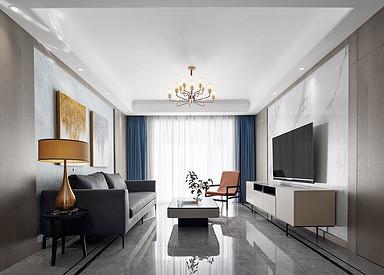 现代风格-华府庄园-四室两厅-148㎡