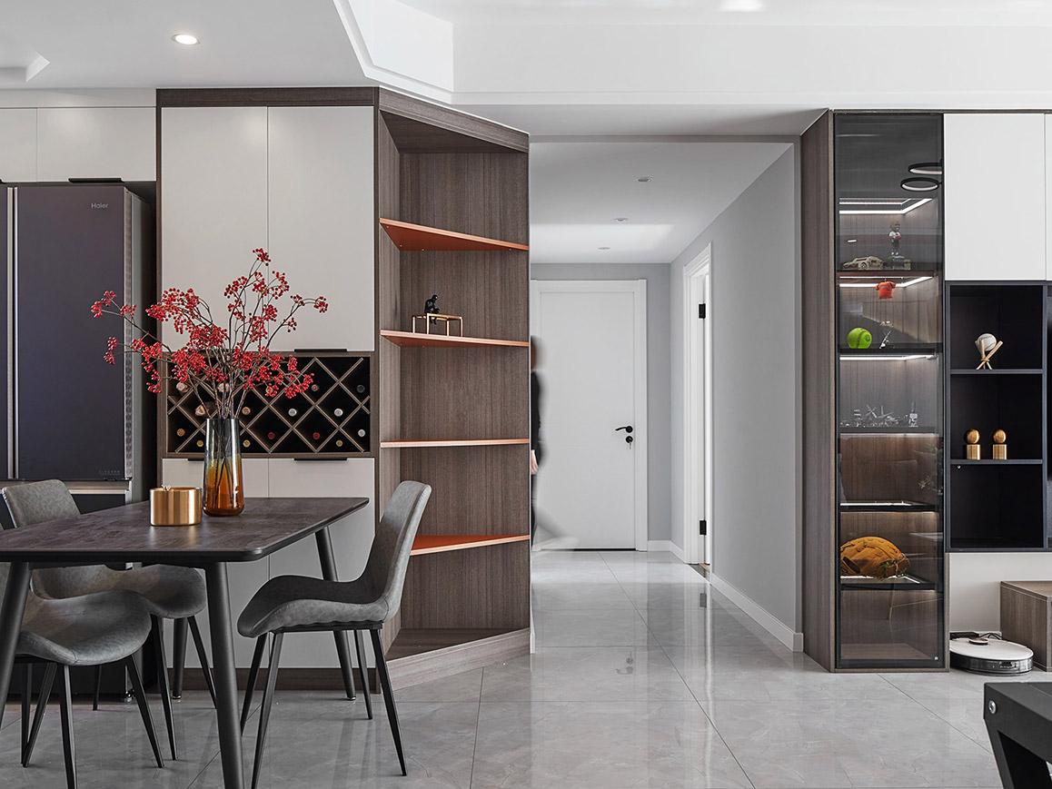 现代风格-江南府-三室两厅-110㎡
