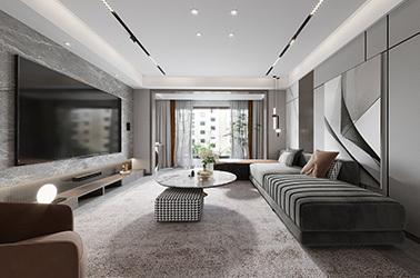 蓝城澜园-现代简约-三室一厅
