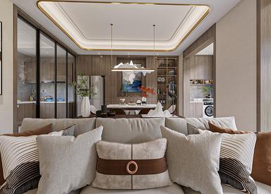 新中式-宝龙官邸-320㎡联排