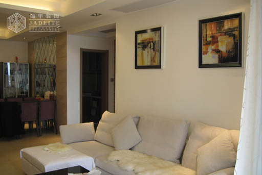 黄金海岸装修-三室两厅-现代简约