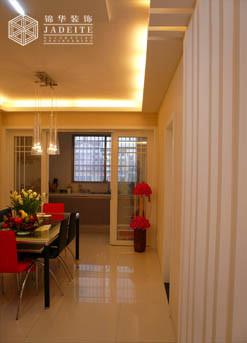 时尚元素装修-两室两厅-现代简约