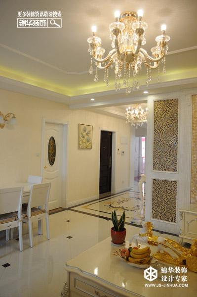 欧式简约之家装修-三室两厅装修效果图-简欧风格