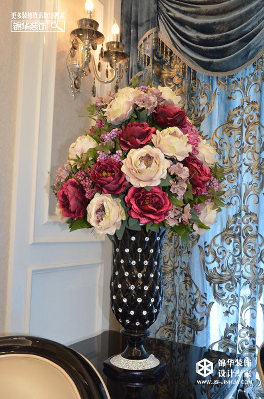 钱江方洲--黑白奢华装修-三室两厅-欧式古典