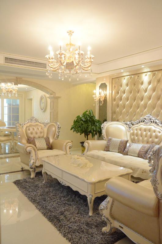 钱江方洲--柔美欧式风装修-三室两厅-欧式古典