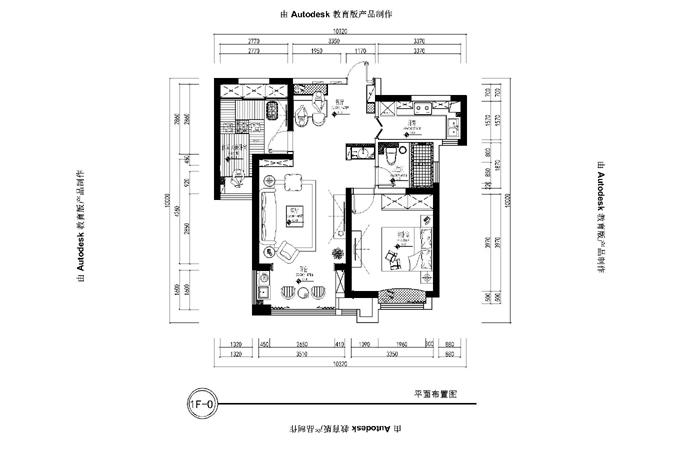 清怡邻家【效果图与实景对比】装修-两室两厅-美式田园