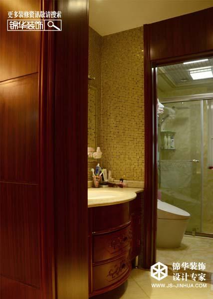 宝龙城市广场2号楼实景案例装修-三室两厅-新中式