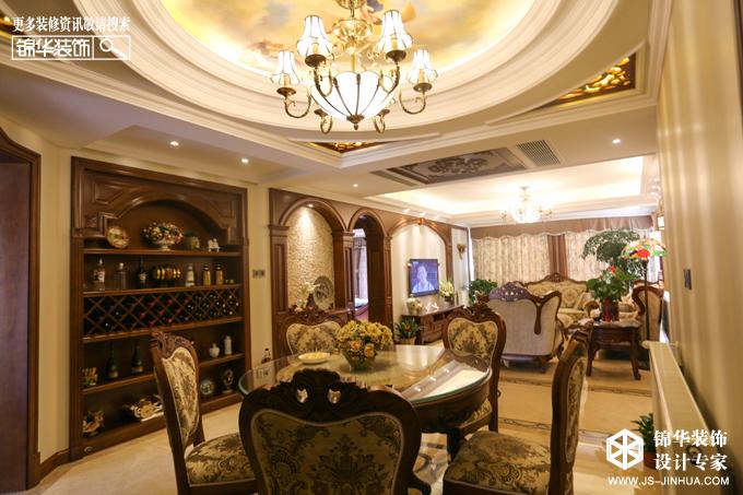钱江方洲--古堡迷情装修-大户型-欧式古典