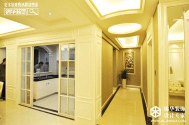 简约欧式-汇景新城-两室一厅-135㎡装修实景效果图