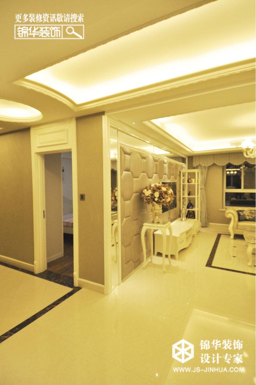 简约欧式装修-两室一厅-简欧