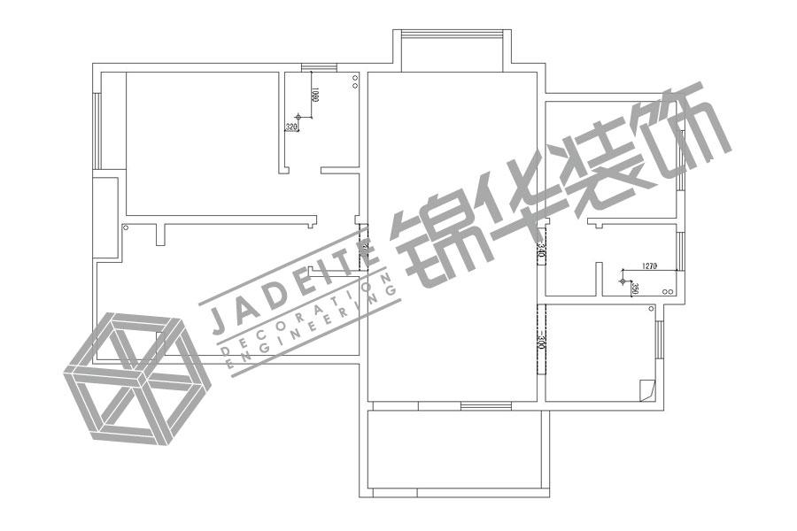 凤鸣缇香13#1406装修-两室两厅-欧式古典