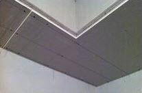 石膏板转角做L型整版