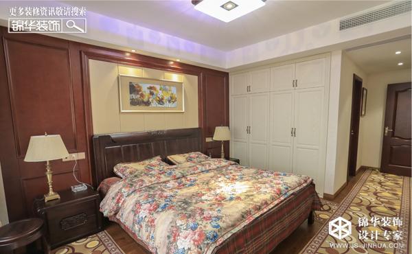 幸福花苑--东方新中装修-三室一厅-新中式
