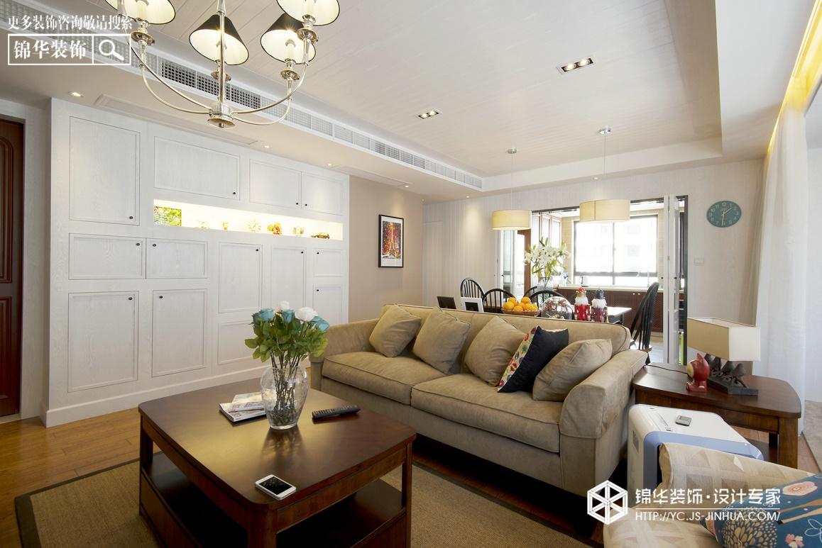 现代简约-橡树湾-三室两厅-160㎡装修实景效果图装修-三室两厅-现代简约
