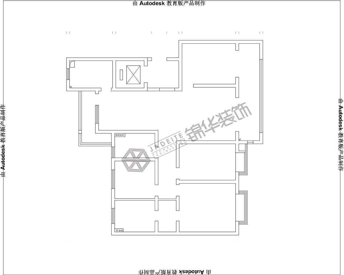 翠湖天地-古朴生活装修-三室两厅-新古典