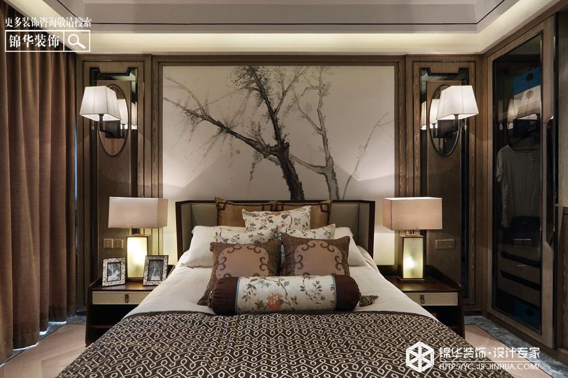 金色果缘-静谧天空装修-三室两厅-混搭