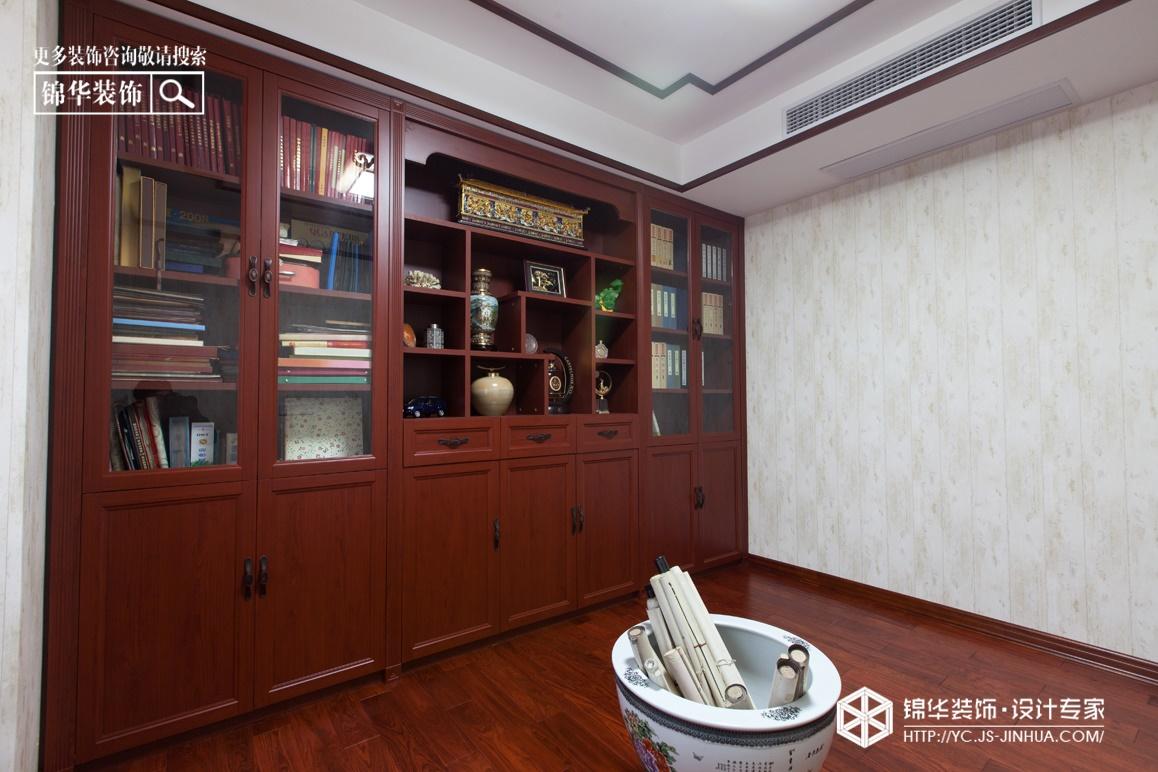 悦龙湾-东方红装修-四室两厅-新中式