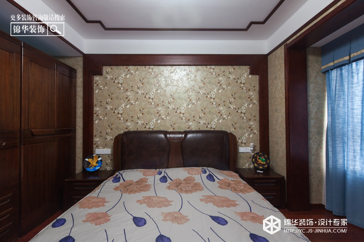 悦龙湾-新中式风格-160㎡(实景)装修-四室两厅-新中式
