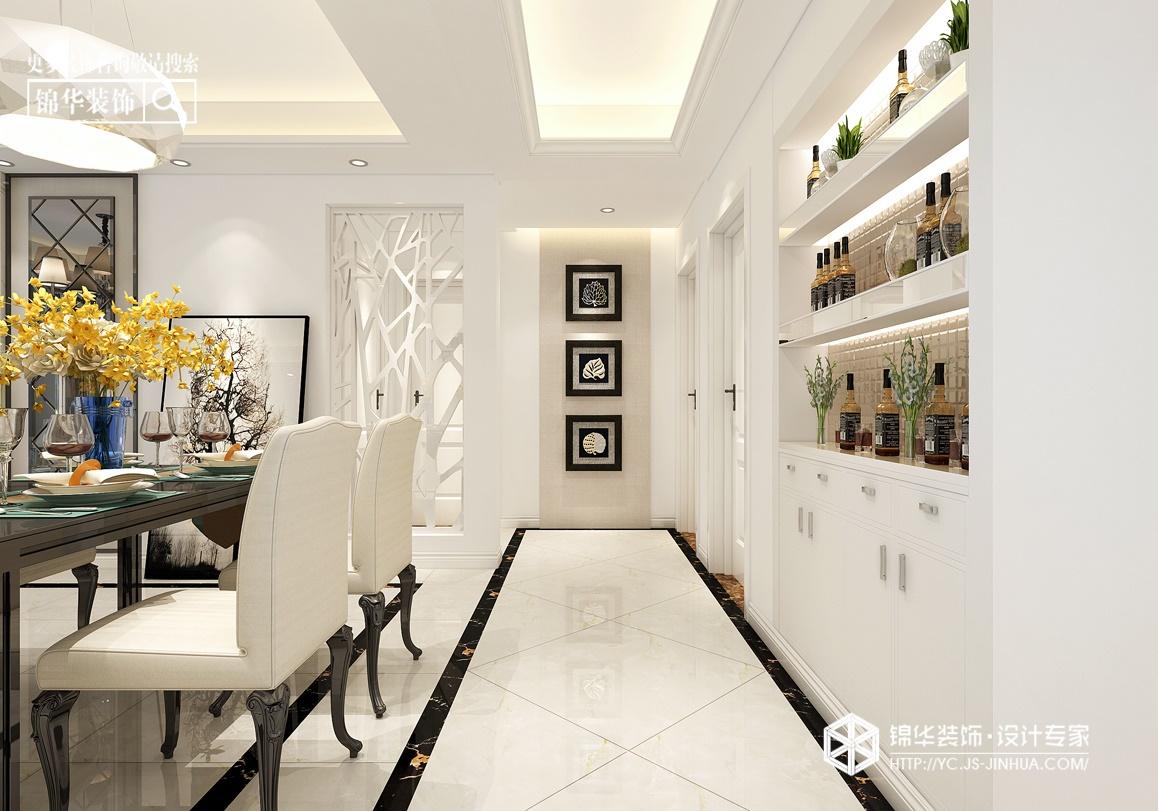 现代简约-中海世纪公馆-三室两厅-115㎡装修实景效果图装修-三室两厅-现代简约