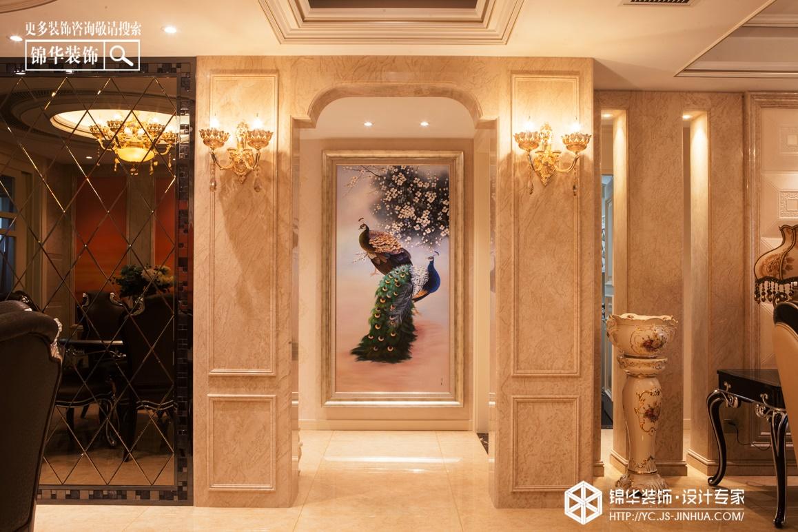 龙泊湾--驿动的心装修-三室两厅-简欧
