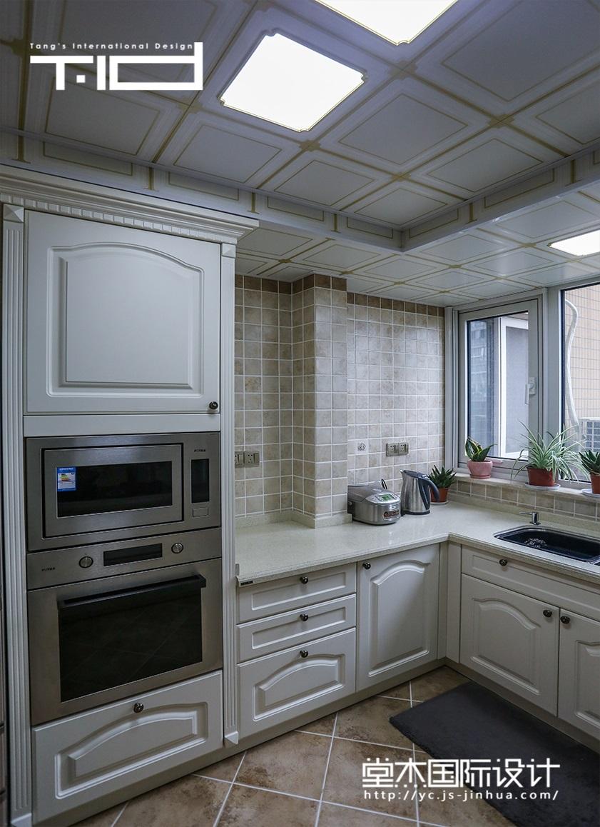 新贵品质装修-三室两厅-美式田园