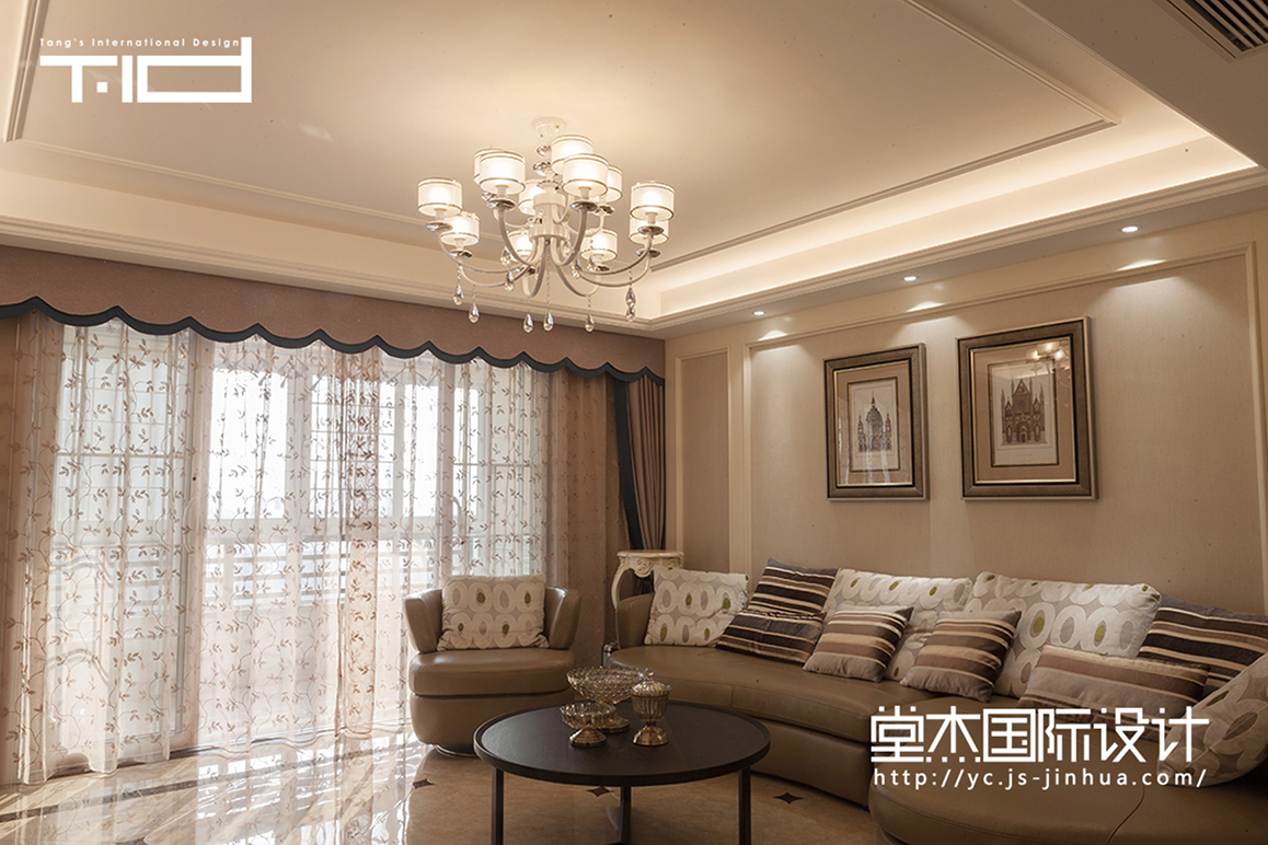 现代简约-文泽府邸-平层-170㎡装修实景效果图