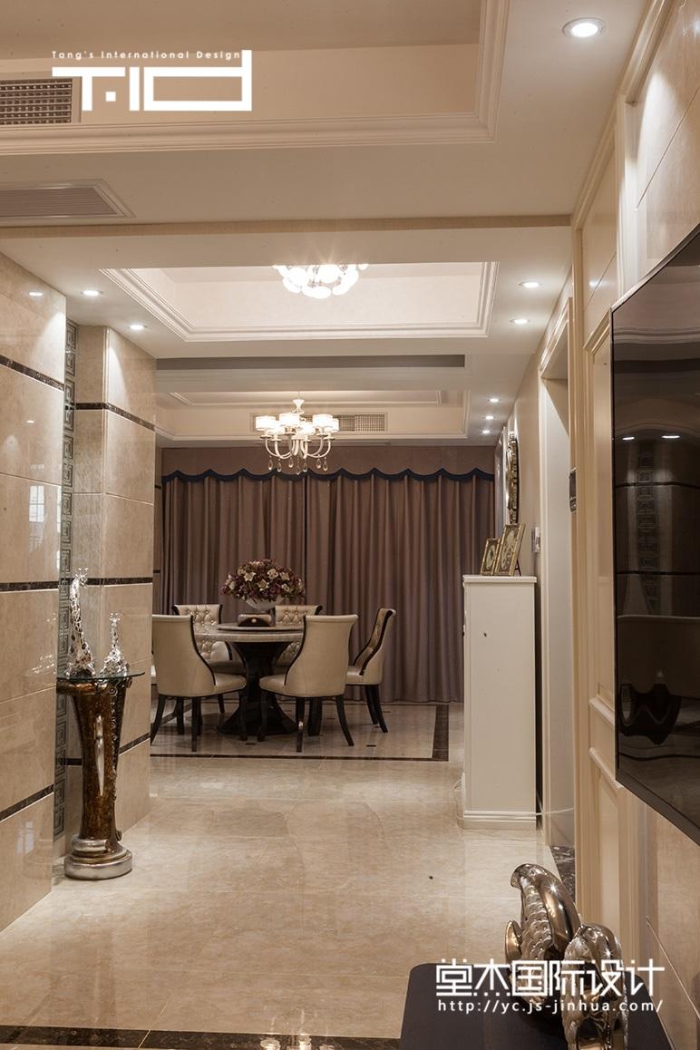 现代简约-文泽府邸-平层-170㎡装修实景效果图装修-三室两厅-现代简约