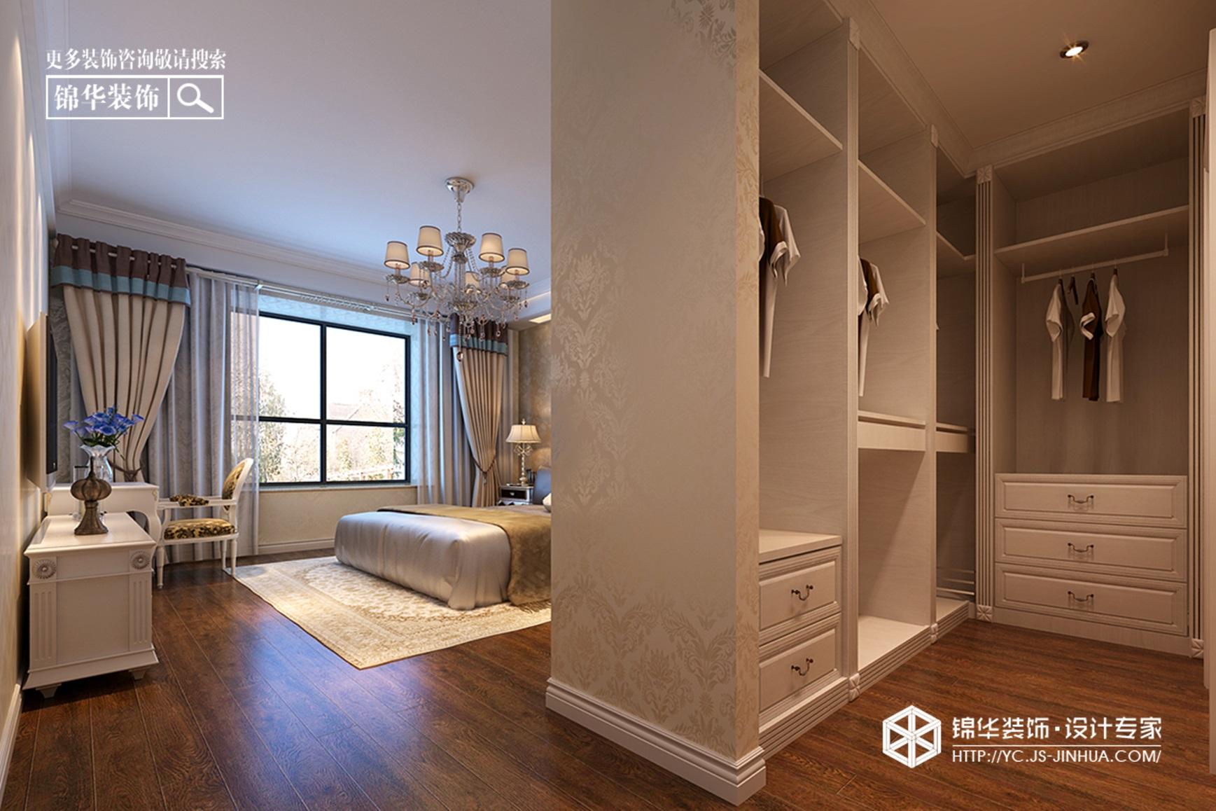 金鹰天地--火树银花装修-三室两厅-简欧