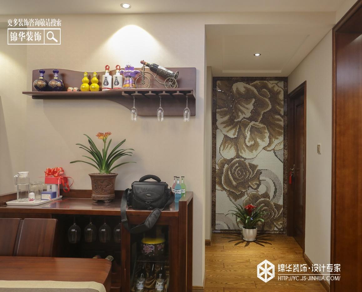 悦珑湾--秋幕装修-三室两厅-新中式