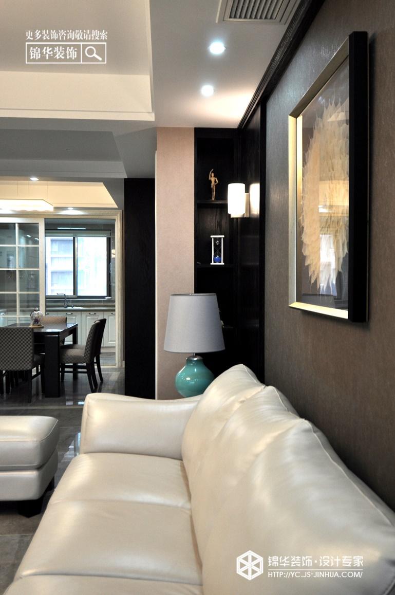 龙泊湾--西雅图未眠装修-三室两厅-现代简约
