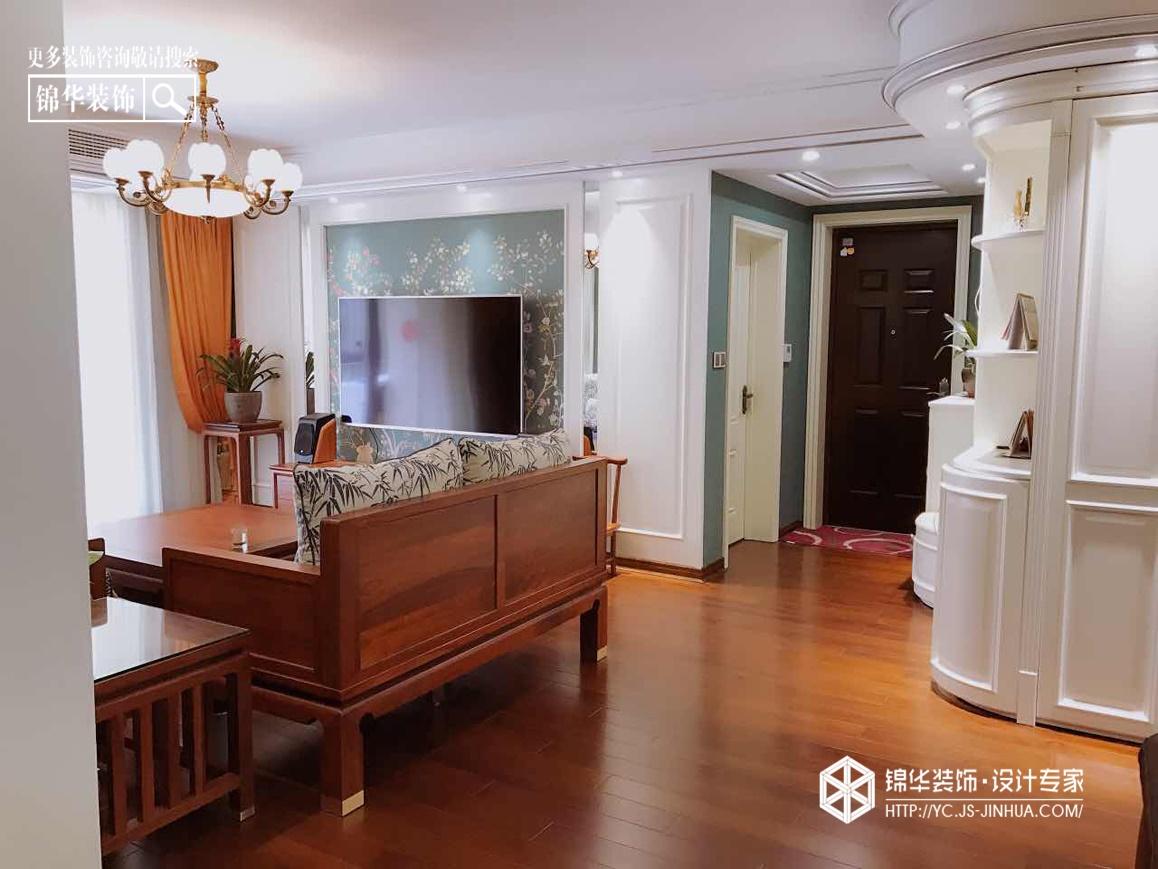 中海·凯旋门--组合装修-三室两厅-混搭