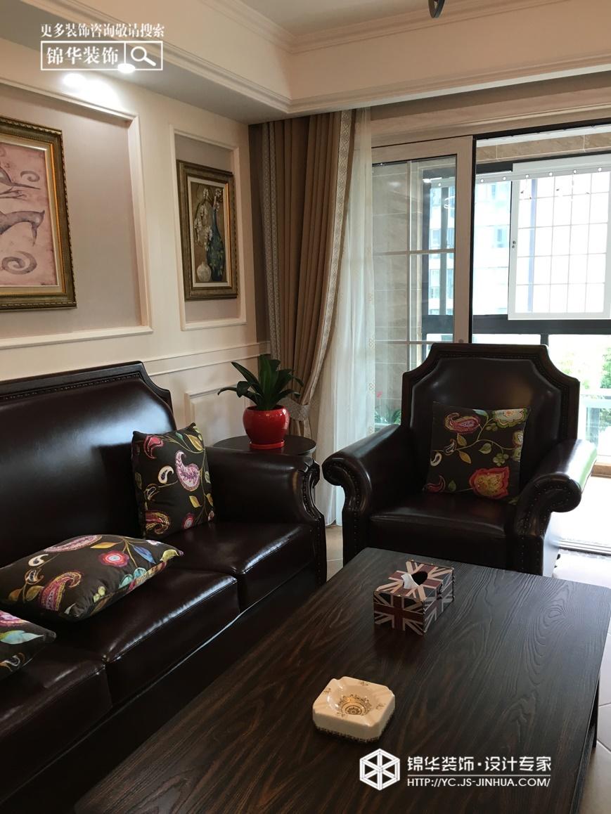 领秀嘉园--清美装修-两室两厅-美式田园