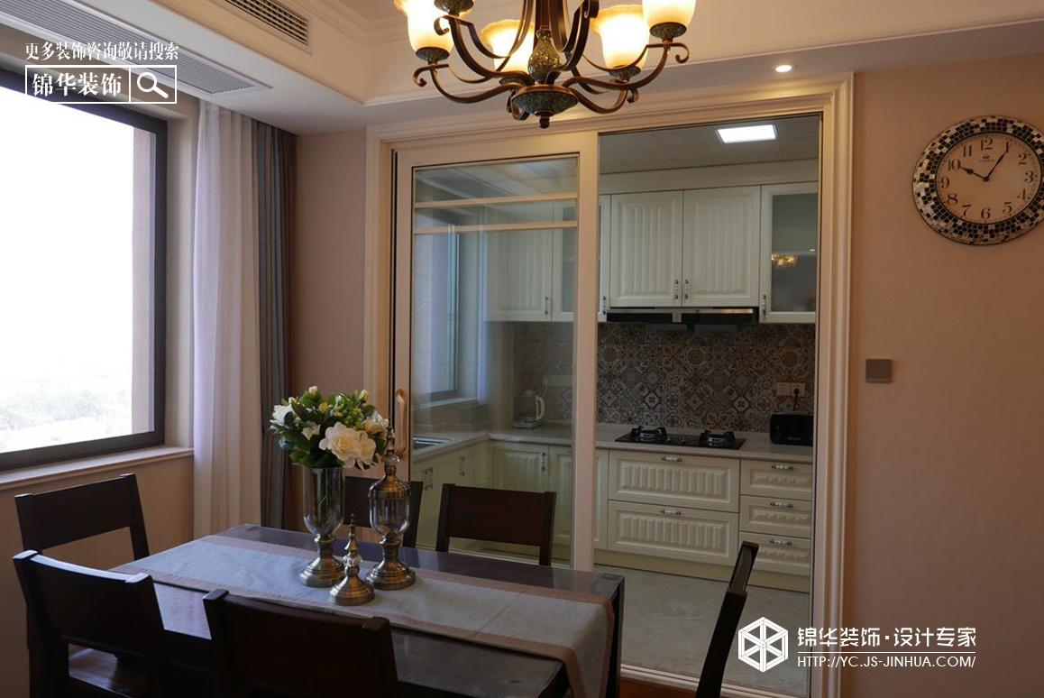 悦珑湾--花香装修-三室两厅-简约美式